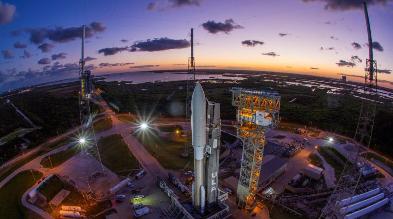 Watch the launch of a new US spy satellite Atlas V Rocket tonight!