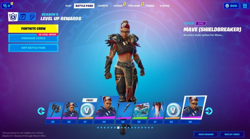 Everything in 'Fortnight' Chapter 2, Season 5 Battle Boss is here
