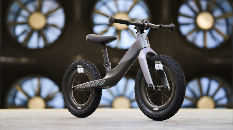 Releases the final 2kg carbon-fiber superbike for special kids
