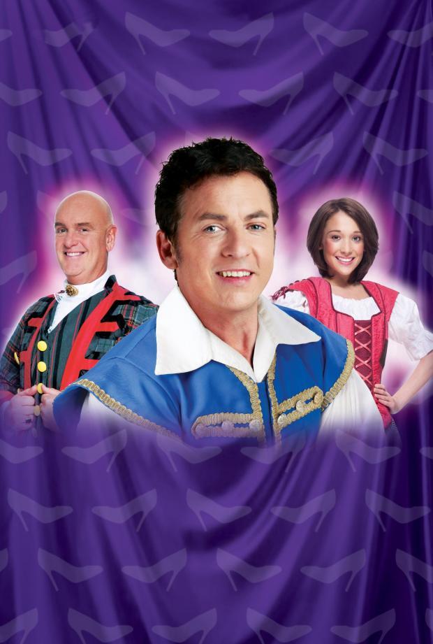 Echo: Shane is set to star in Cinderella at Cliffs in 2012
