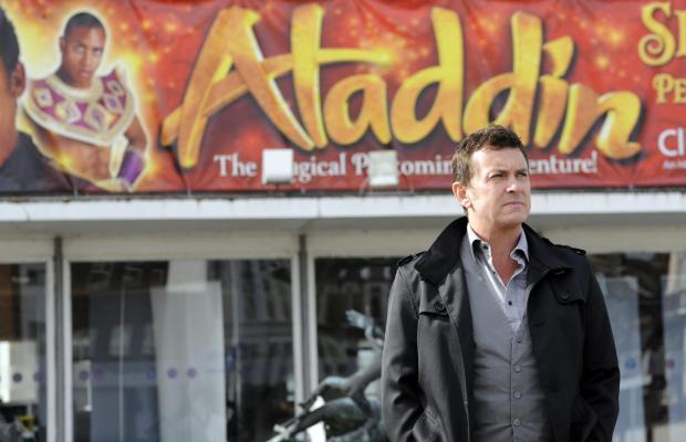 Echo: Shane starred in Aladdin in 2011 in the Cliffs