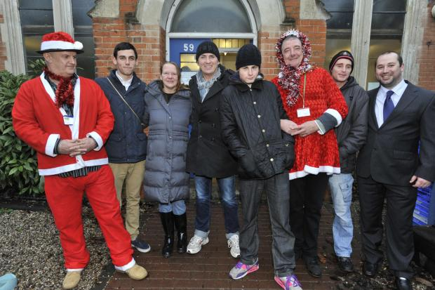 Echo: 2012 - Shane supports a charity called Harp at the Old Day Center in Westcliff, Valkyrie Road