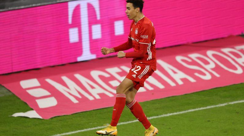 Jamal Musiyala stars R.P. as Bayern Munich draw  Leipzig 3-3