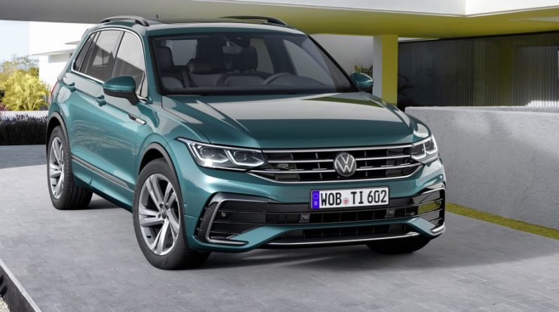 The 2021 Volkswagen Tiguan model range is outlined, which is expected to be the best-selling VW next year