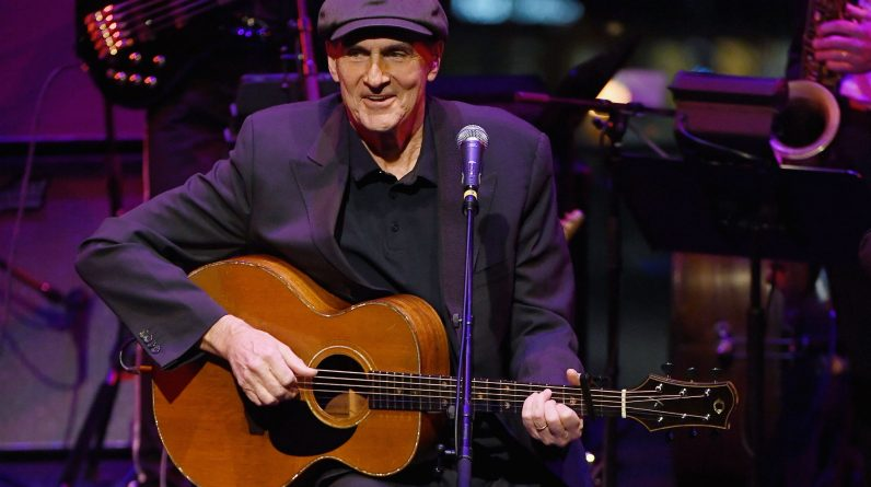 The day before he was shot, James Taylor met John Lennon's assassin