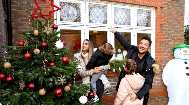 Peter Andre and wife Emily pose for rare family photos as they prepare for Christmas