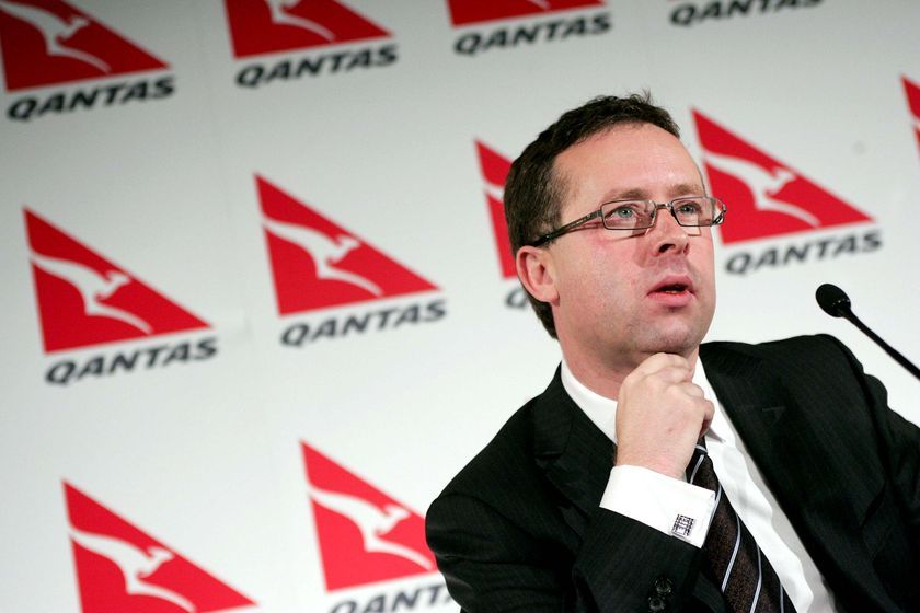 Qantas CEO Alan Joyce Announces Annual Half-Year Financial Results