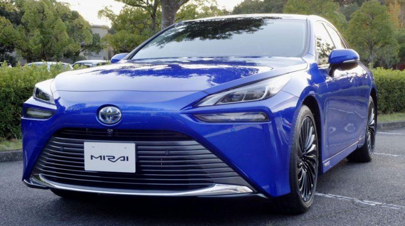Toyota Introduces 2-Gen Mirai Hydrogen Fuel Cell Car