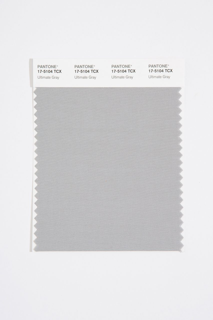 Ultimate Gray is one of the colors of Pantone for 2021