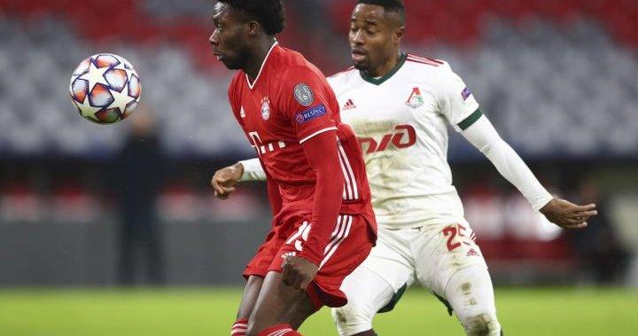 Edmonton football star Alfonso Davis returns from injury, starting at 11 in Bayern Munich - Edmonton