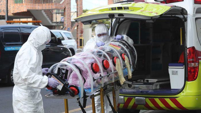Korea reports highest number of new coronavirus cases
