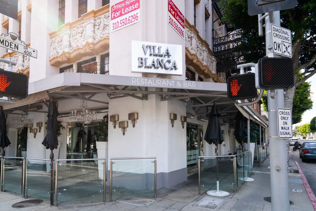 Lisa Wonderpump Restaurant in Villa Blanca, Beverly Hills