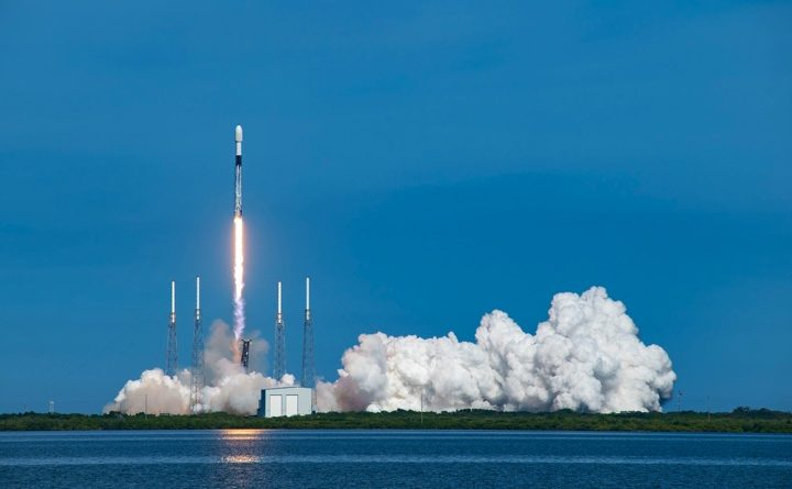 Sirius XM satellite rides the SpaceX rocket into orbit - space travel now