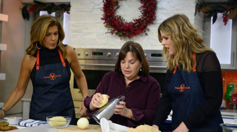 Hoda Kotb, Ina Garten, and Jenna Bush Hager on Today show