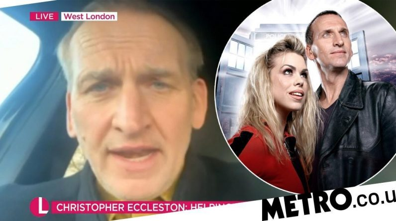 Christopher Eccleston will return to Dr. Who when 'freezing hell'