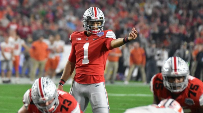[Draft] If I were a believer: Justin Fields |  Touchdown Act (NFL Act)