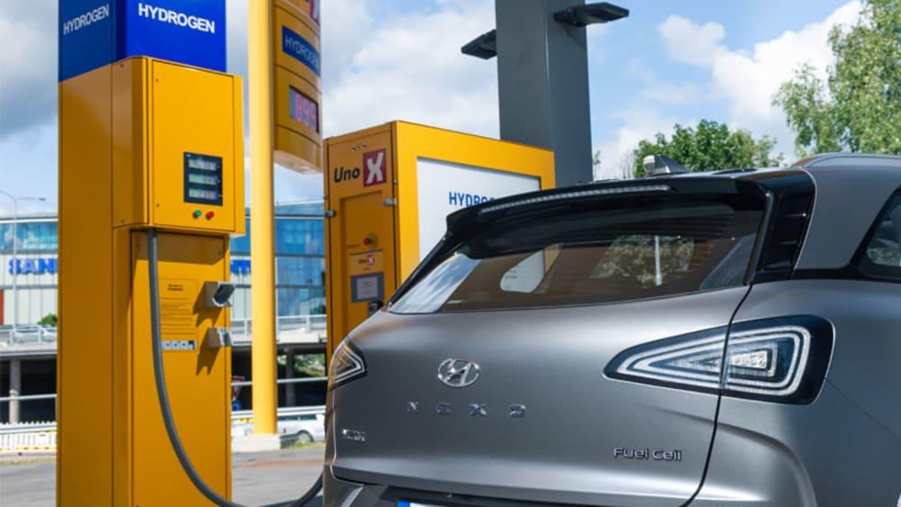 Hyundai Nexus, Hydrogen Filling Station