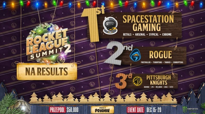 SpaceStation won the Gaming Rocket League summit