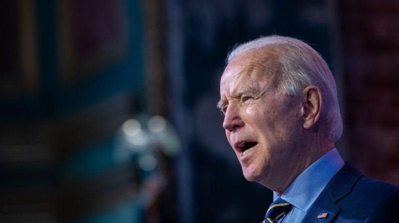 Biden stands against Trump.  The jaws are also critical of vaccines