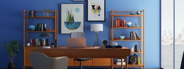 Purchase a guide with decorative ideas to set up your home office