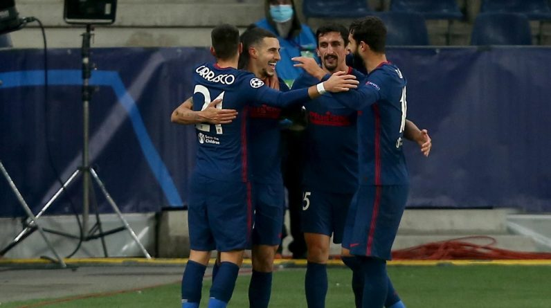 Atletico Madrid advance past Red Bull Salzburg