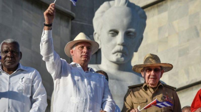 Miguel Diaz-Canel, le 1er mai 2019 à La Havane