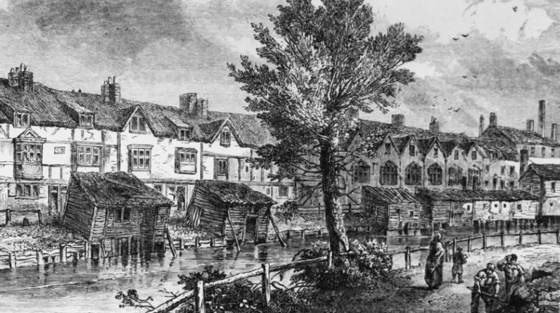Charles Dickens, Frenzy Walker in London, 1812-1870 - AB.  7/13