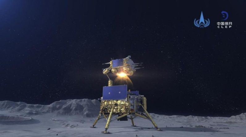 China is orbiting the moon with lunar models