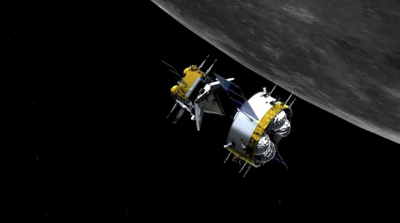 China was the first country to do robotic docking in lunar orbit