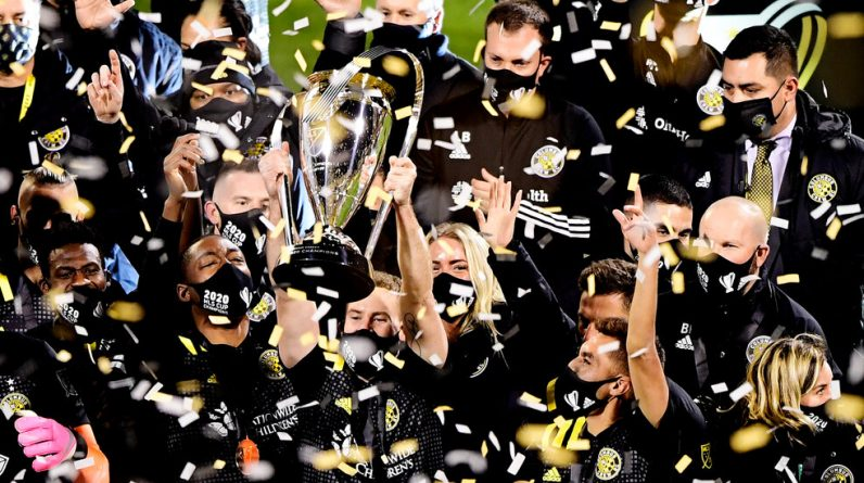 Columbus won the Seattle to win the MLS Cup