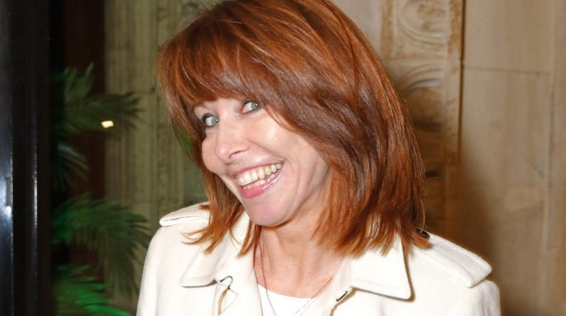 Kay Burley on safari as speculation about his Sky News job escalates after Govt breach