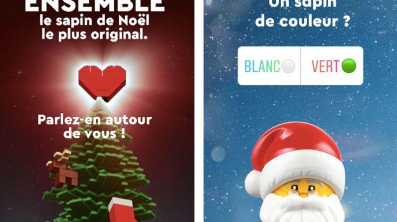 Lego on Instagram Why Create Original Christmas Tree
