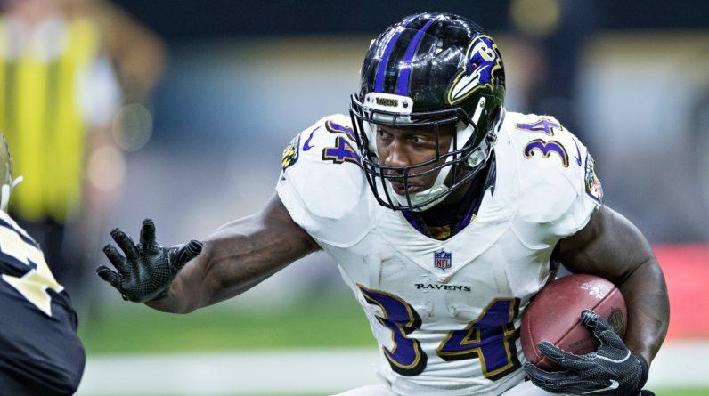 NFL: Former Ravens run behind Lorenzo Taliafero dies at 28