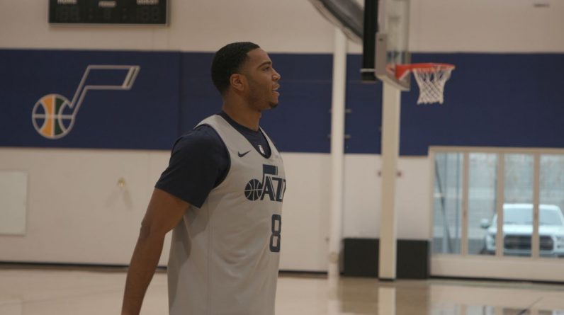 New Utah Jazz Guard Shaq Harrison is eager to 'fill that void' as the team's perimeter security ace