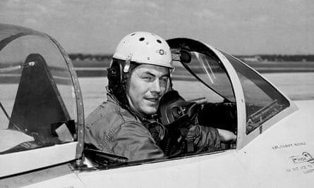 Chuck Yeager on a test flight in 1948.