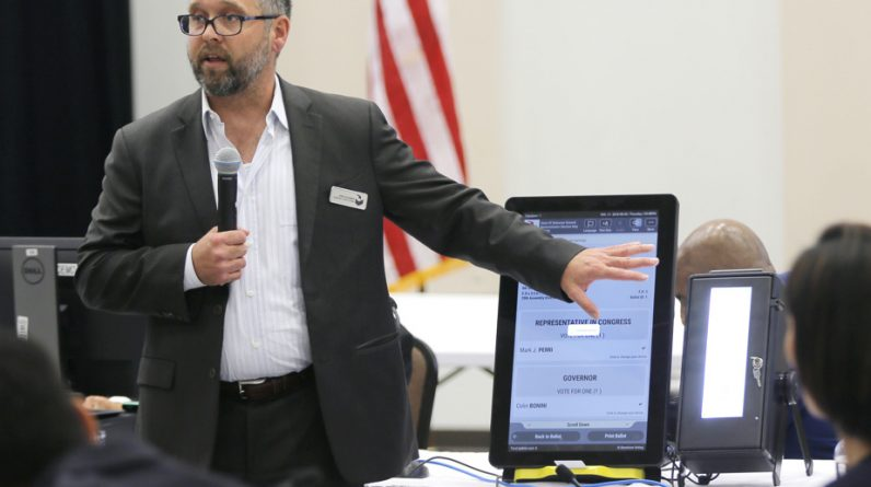 Dominion Voting Systems employee sues Trump campaign, allies
