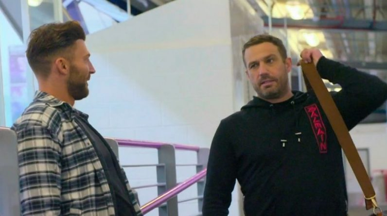 Real Full Monty on Ice Fans Shows 'Beef' Between Jack Quicketon and Jamie Lomas