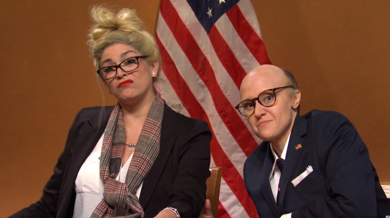 'SNL' parodies Rudy Giuliani and Melissa Caron will hear the disaster