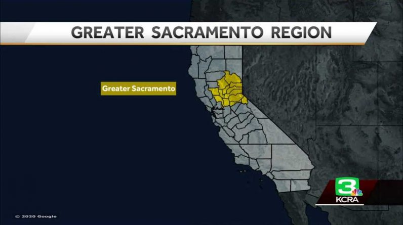 The Greater Sacramento area will be in the shelter