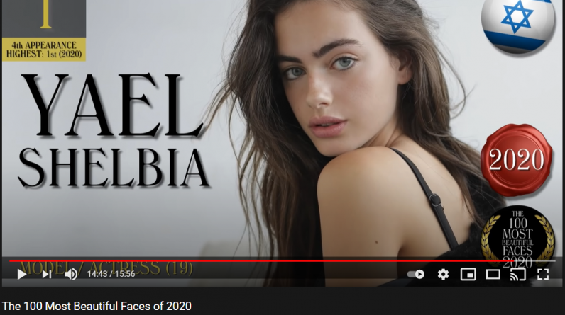 Yale Shelbia, a 19-year-old girl with the most beautiful face of 2020