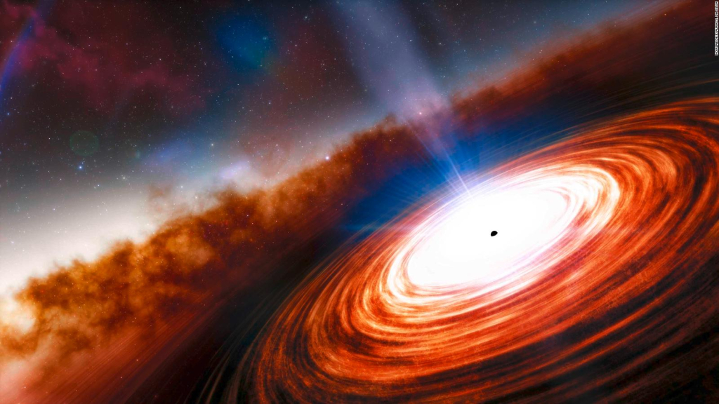 Researchers discover the distant quasar of the universe