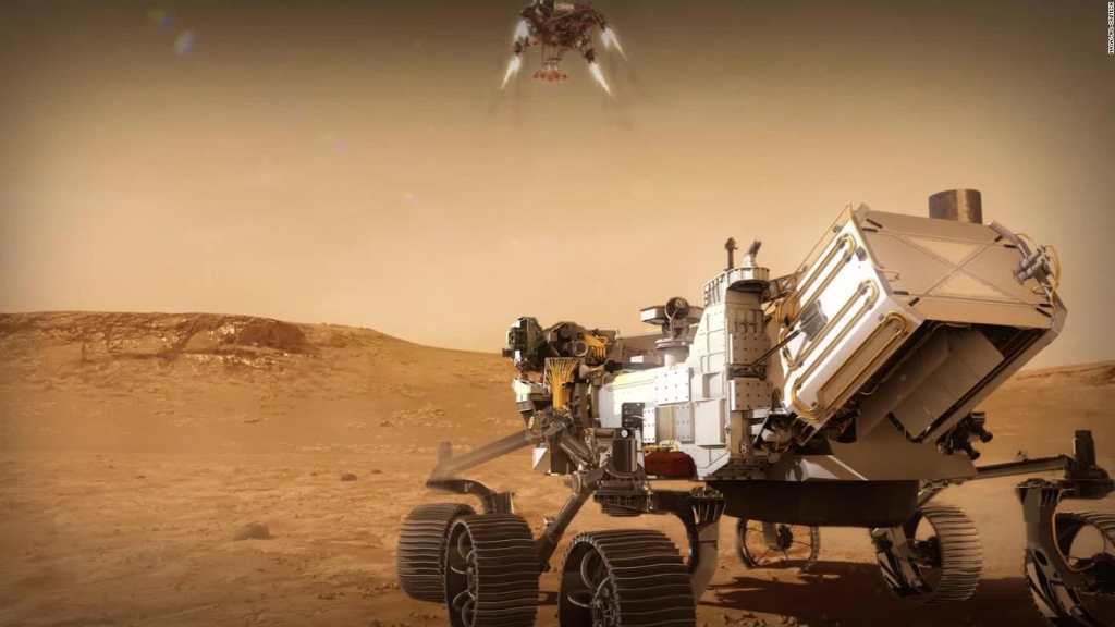 We can hear the sound of Mars for the first time