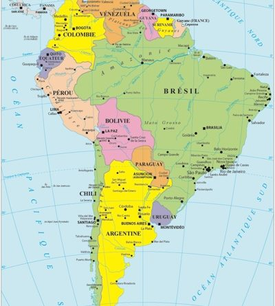 Statistical data collection for Latin American countries