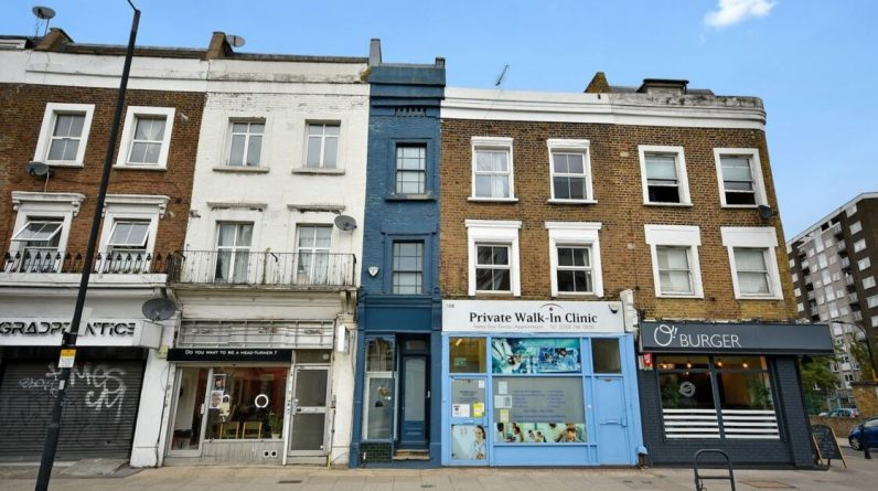 London's smallest house for sale for m 1 million