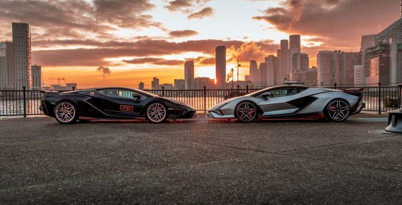 Delivering two Lamborghini Zion to London - 4Legend.com