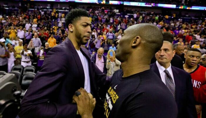 Anthony Davis's very true statement about the legacy of Kobe Bryant