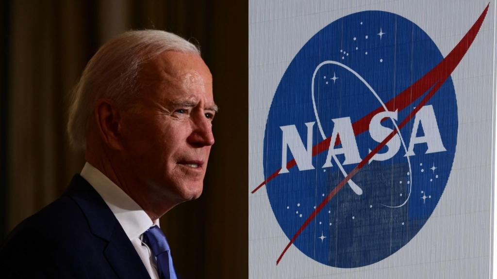 Biden is an alien object requested by NASA