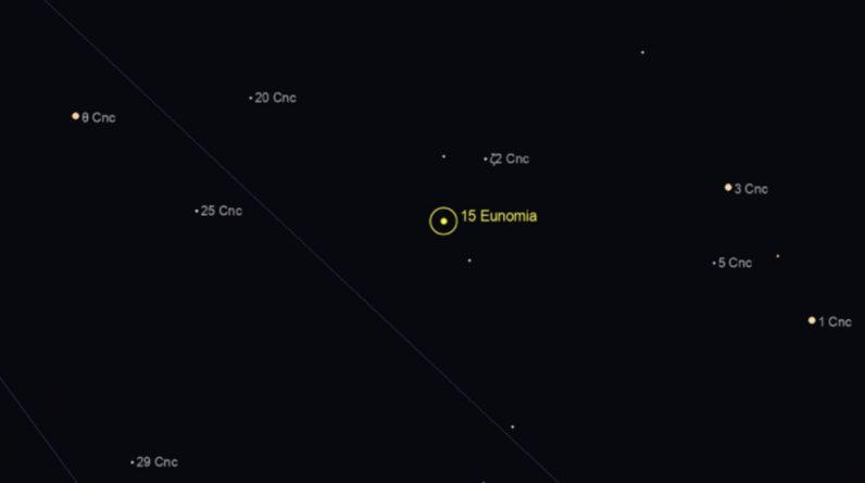 Asteroide Eunomia: cuánto mide, a qué velocidad va, a cuánto pasa de la Tierra y qué peligro hay