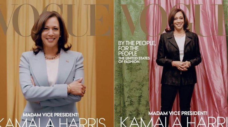"""Kamala Harris photographiée trop """"relax"""" à la Une de Vogue? Anna Wintour se défend"""