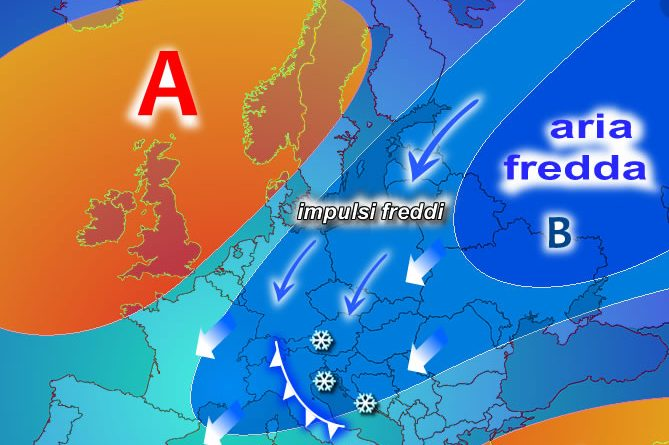 February weather forecast: important confirmations for a cold turn from Russia in the middle of the month